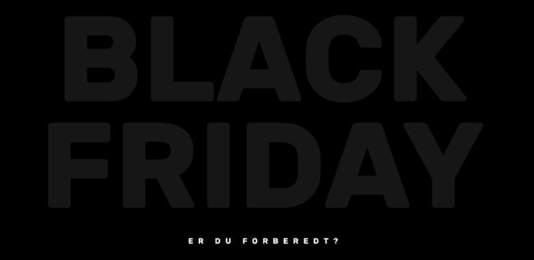 Gjør nettbutikken din klar til Black Friday og Cyber Monday